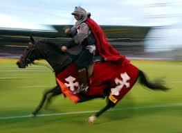 crusaders horse