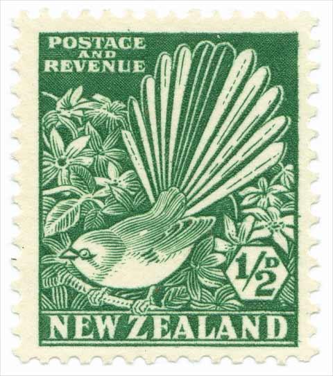 fantail stamp
